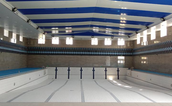 上海宝山区高境实验中学训练用泳池